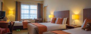 Family accommodation in Limerick city - family bedroom Maldron