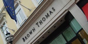 Brown Thomas in Limerick, shopping trips Limerick