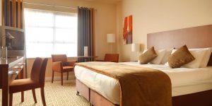 Maldron hotel double room in Limerick city