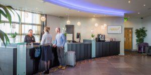 Hotel Reception in Maldron Hotel Limerick