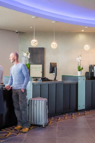 Hotel Reception in Maldron Hotel Limerick