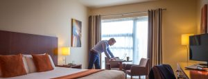 Business man staying in the Maldron hotel Limerick