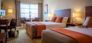 Twin rooms in Limerick city hotel