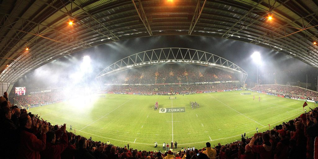Thomond Park rugby grounds Limerick